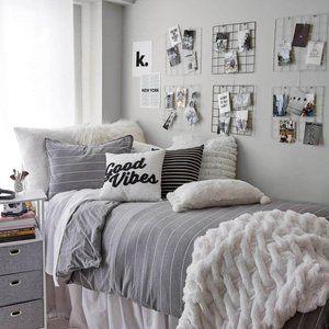 New Dormify Striped Jersey Duvet Set